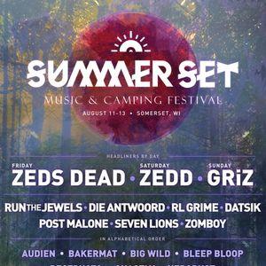 Zeds Dead @ Summer Set Festival Somerset, US 08/11/17