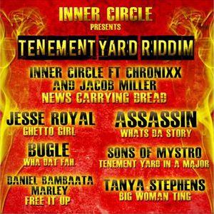 Tenement Yard Riddim 2015 Mixx By Selecta PeaceBoy