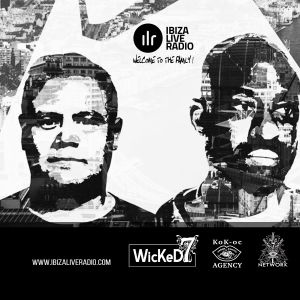 MUTINY UK - IBIZA LIVE RADIO - WICKED 7 RADIO SHOW 8 - 04 - 2017