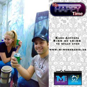 20.07.2015 It's Happy Time Πάνος & Λίνα κάθε Δευτέρα 8-10μμ @M-Word Web Radio