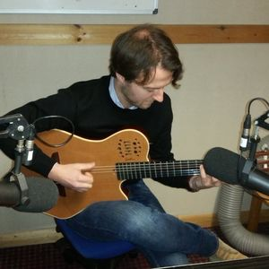 A Slice of Jazz with Rhys Phillips - 09 April 2016 - Maciek Pysz performs in session