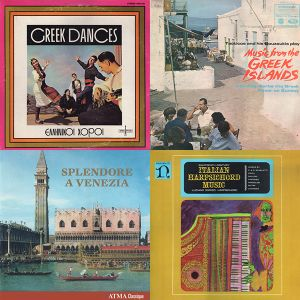Samplecast Mix #1 - Music from old Greece, the Greek Islands, Italy and Venice + Beats