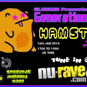 GenerationX [RadioShow] pres. HAMSTA (UK) Guest Mix @ NU-RAVE RADIO-16Jan2014