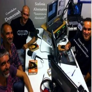 "SINFONIA ALTERNATIVA - ""Entrevista na Alternativa"" - Convidados ""Democrash"" 13Abr2017"