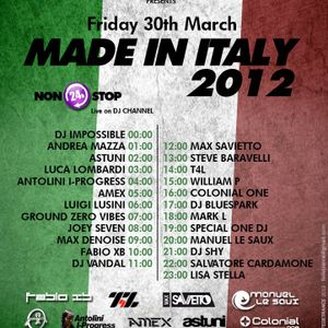 Bluespark - Italy in the mix on Trance FM 30/03/2012