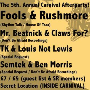 Lostbahnhof 5th. Annual Carnival Afterparty Selection