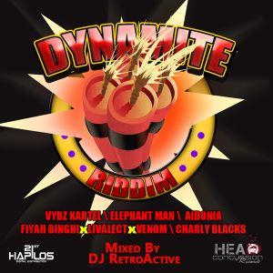 DJ RetroActive - Dynamite Riddim Mix (Full) [Russian/HCR] July 2012