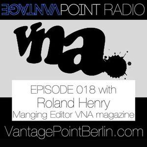 VantagePoint - w/ Roland Henry from VNA Magazine