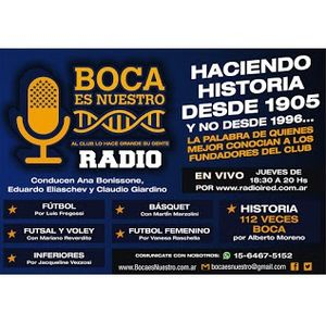 Boca es Nuestro. Programa 30. Jueves 30/3/17 en iRed Media