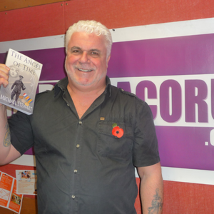Mike Stewart on his debut novel 'The Angel of Time' with Radio Dacorum's Sarah Lowther (9/11/2014)