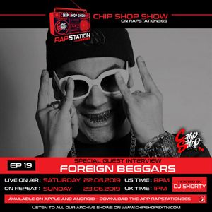 Ep 20 ft. OV of The Foreign Beggars The Chip Shop Show on Rapstation365