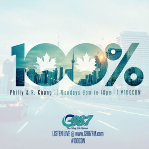 100% Canadian with Philly & R. Chung - Monday June 13 2016