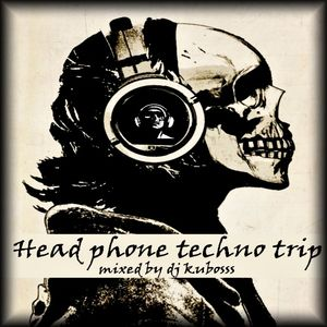 Head phone techno trip