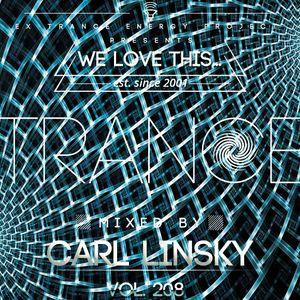 "Carl Linsky - ""We Love This..."" Vol. 208"