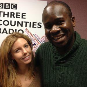 Edward Adoo - BBC Three Counties Radio - Weekend Breakfast -  27.12.14