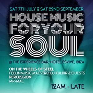 Feelinmusic Records Soulful House Show - Ibiza Pre Party Mix - 2012
