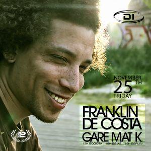 Gare Mat K live @ DI.FM 25th Nov 2011 - w/Frankin De Costa & Gare Mat K - Part2