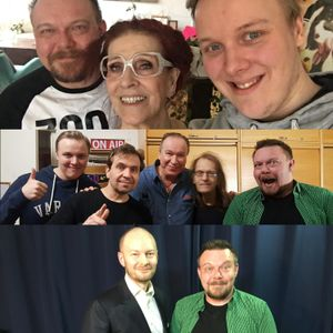 Viihteellä 23.3.2017: Megashowssa vieraina Aira Samulin, Ile Vainio, Janus Hanski ja Sampo Terho