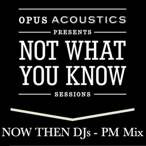 Not What You Know Sessions - Now Then DJs - PM Mix