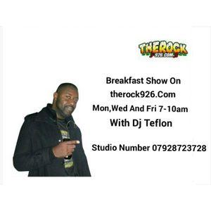 Breakfast show on the rock 926  29/04/15