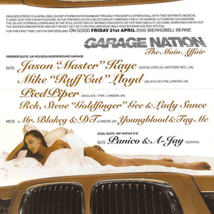 "Mike ""Ruffcut"" Lloyd & MCs DT & Blakey @ GARAGE NATION 21.04.2000 Bierhübeli Berne"