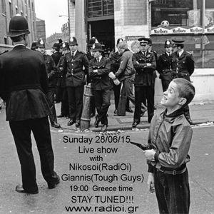 """RadiOi"" oi,ska,punk radio show 28/06/2015"