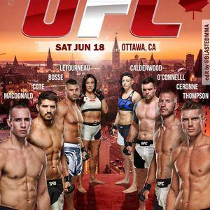 Résumé du premier gala UFC présenter à Ottawa.