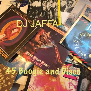 45 Vinyl, Boogie and Disco