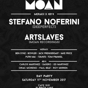 Promo mix 4by4 x Merakii presents Moan Recordings featuring Stefano Noferini: Side A Ed Martinez