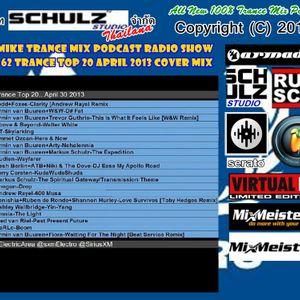 DJ_MIKE Trance Mix Pod Cast Radio Show Vol.62 Trance top 20 April 2013 Cover Mix