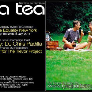 DJ Chris Padilla Marriage Equality Sea Tea 7.24.11