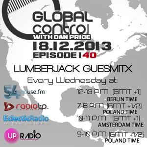 Dan Price - Global Control Episode 140 (18.12.13) Lumberjack Guestmix