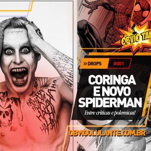 Óbvio Talk #01 - O coringa de Jared Leto e a escolha do novo Homem-aranha!