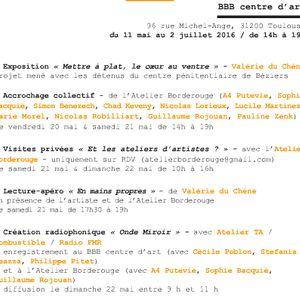 """Débat """"Autour des Atelier d'Artistes"""" - We-Act 2016 - BBB"""