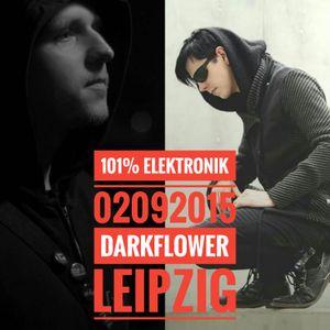 DJ Dean Freud & DJ Hells at 101% Electronik, Darkflower Leipzig  / DJ SET Live Recording