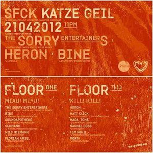 Morta @ Stressfucktor Presents Katze Geil - Weidendamm Hannover - 21.04.2012 - Part 1