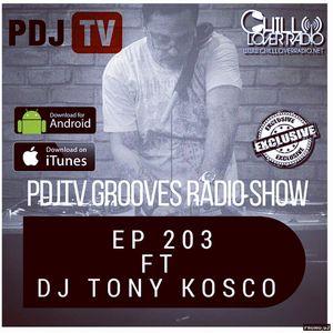 DJ Tony Kosco Radio Show Episode 203
