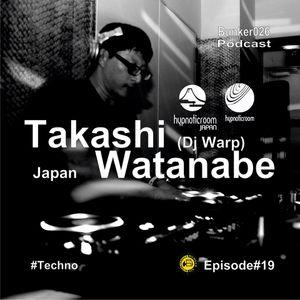 DJ Warp a.k.a Takashi Watnabe - Samurai Mix for Bunker 026 podcast
