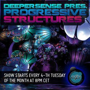 Deepersense Pres. Progressive Structures 040 with Konrad Kacak & Manu Riga Guest Mix (28-04-2015)