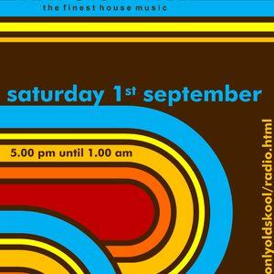 Live 0n Whoosh onlyoldskool.com radio 1st Sept 2012