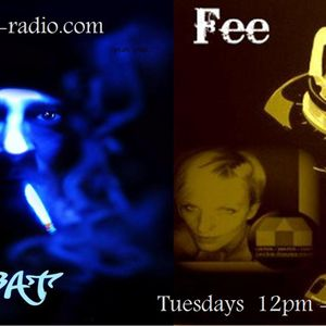 TJ n Fee live on rave-radio.com 08-05-12