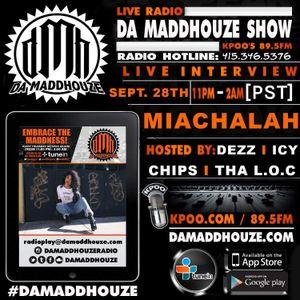 Da Maddhouze sits down with Miachalah on KPOO 89.5 FM