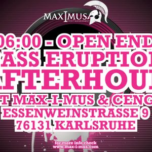 Max-I-muS @ BASS ERUPTION VOL 3 AFTERHOUR 2012