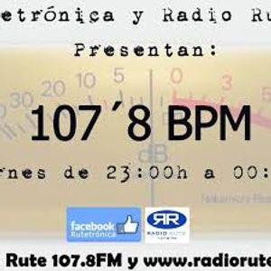 107'8 B.P.M. Radio Show. Programa 19. Fin de temporada. (26-6-2015)