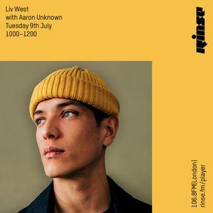 Liv West x Aaron Unknown - Rinse FM - 9th July 2019