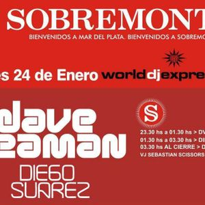 Diego Suarez - Live @ Sobremonte 24.01.13 (Mar del Plata, Arg.) [Warming Up for Dave Seaman]