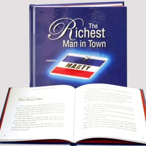 Interview with the author of The Richest Man in Town, VJ Smith
