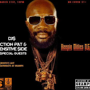 DJ Mr Brown + Action Pat + Sensitive Side - Southernmost Soul Party @ Gramps 3.21.15 - All Vinyl