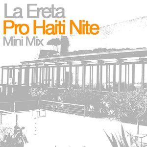 Minimix from La Ereta Restaurant Pro Haiti Nite