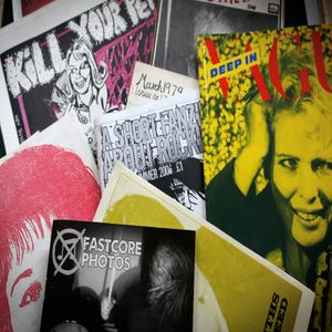 A Short Exhibition Mix About Music Zines